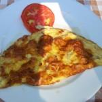 Restaurace Kužina Sutomore - snídaně