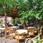 Restaurace Kužina Sutomore - zahrádka