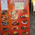Restaurace VUK Sutomore - jídelní lístek