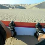 sanboarding v poušti